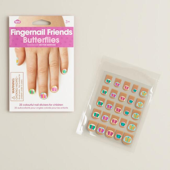 Fingernail Friends Butterflies Kit