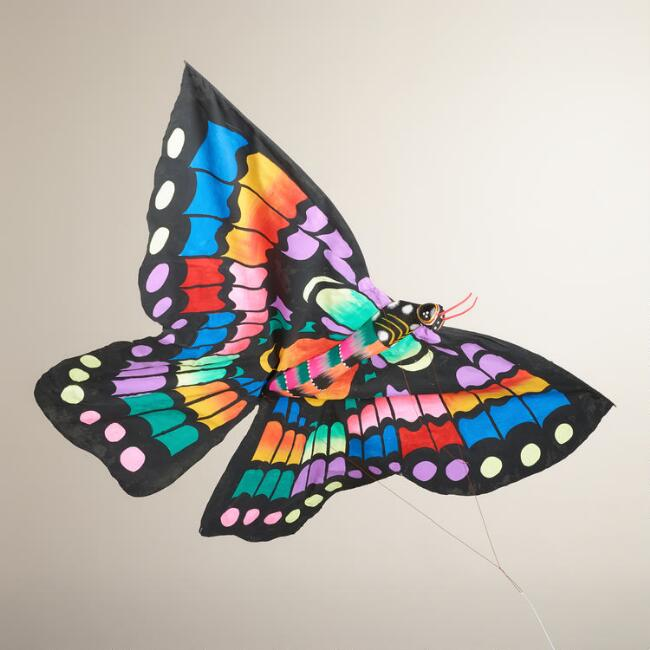 Multicolored Balinese Butterfly Kite