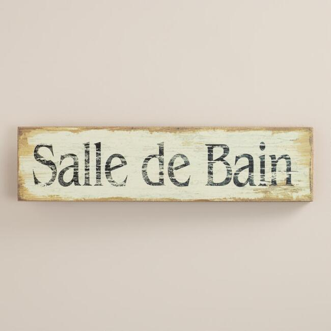 Salle de bain wall art world market for Salle de bain xxs