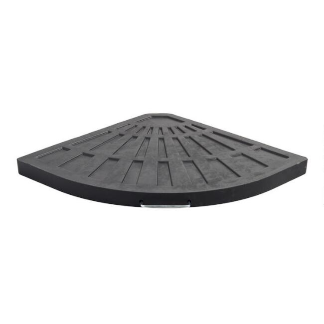 Black Cantilever Patio Umbrella Weight Base