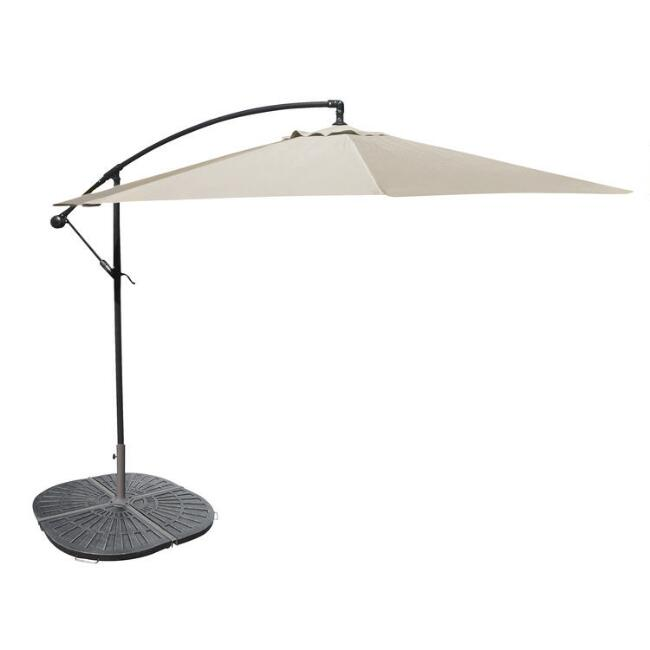 Natural Cantilever Outdoor Umbrella Collection