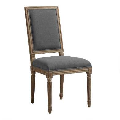 Square Back Paige Upholstered Dining Chair Set Of 2
