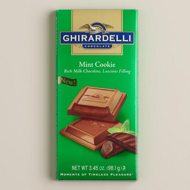Ghirardelli Mint Cookie-Filled Bar