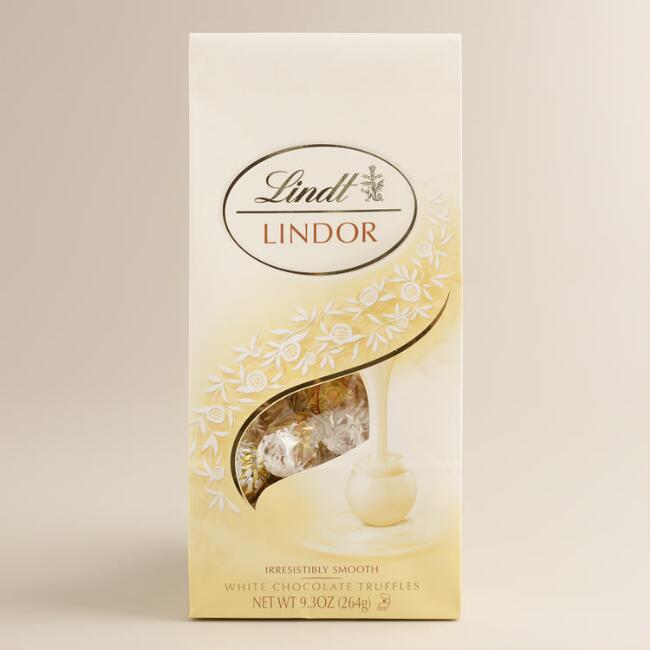 Lindt White Chocolate Truffles Bag