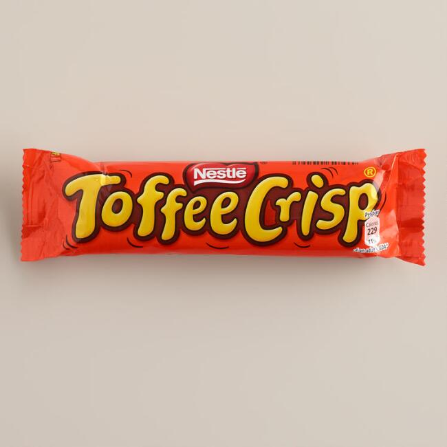 Nestle Toffee Crisp Candy Bar