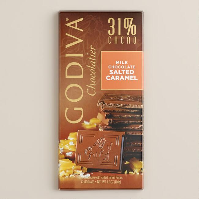 Godiva Milk Chocolate Salted Caramel Bar