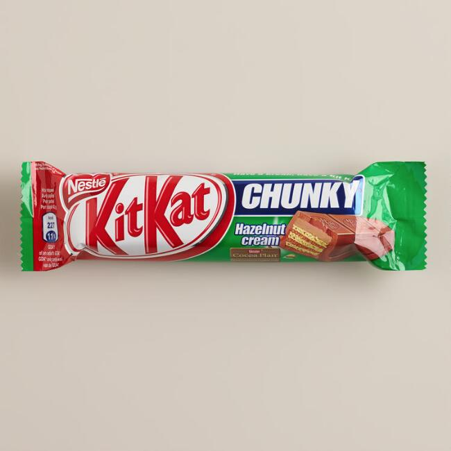 Nestle Kit Kat Chunky Hazelnut Bar