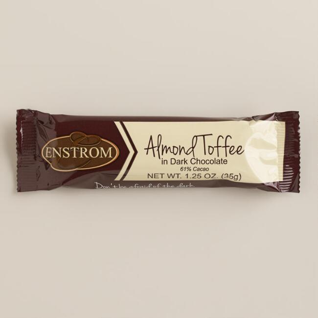 Enstrom's Almond Toffee Dark Chocolate Bar