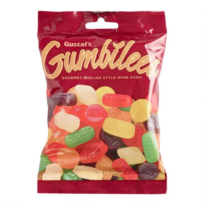Gustaf's Gumbilees Wine Gums Gummy Candy Set of 6