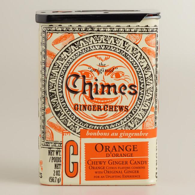 Chimes Orange Ginger Chews Tin
