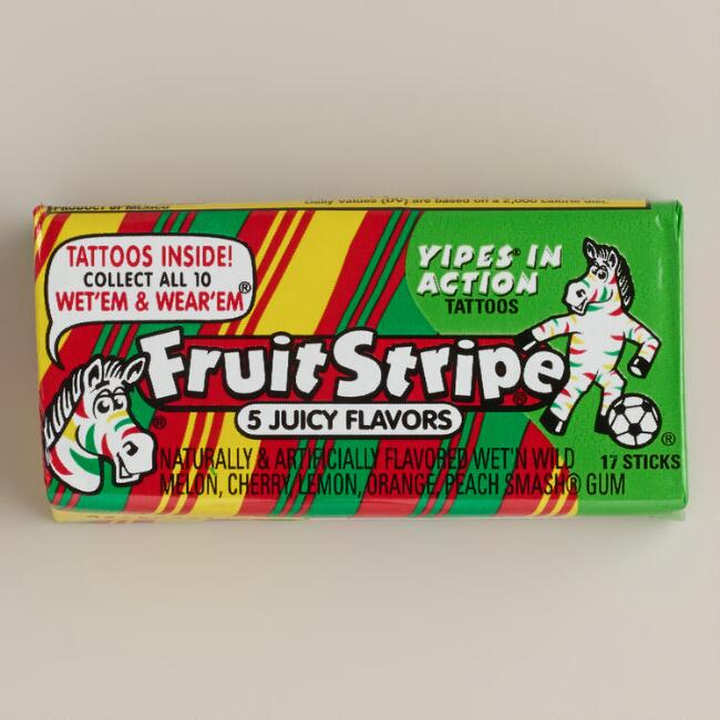 Fruit Stripe Original Chewing Gum