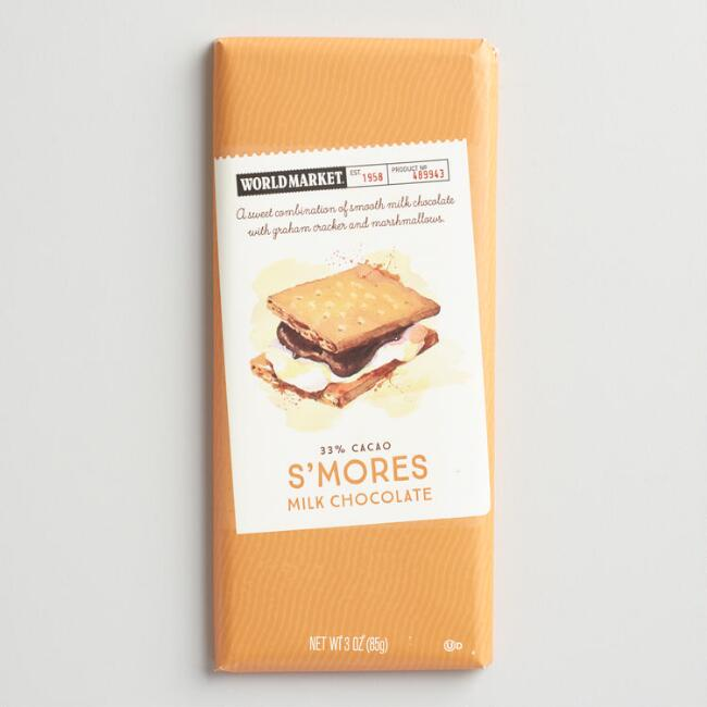 World Market® S'mores Chocolate Bar, Set of 2