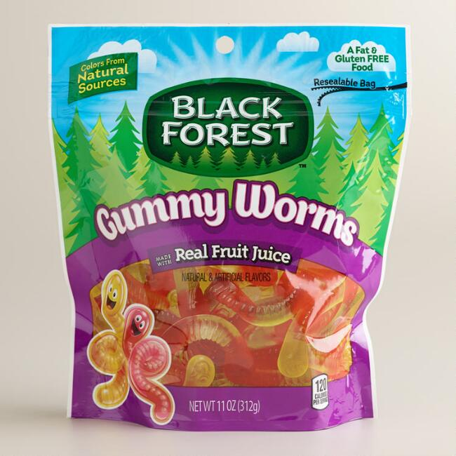 Ferrara Black Forest Gummy Worms