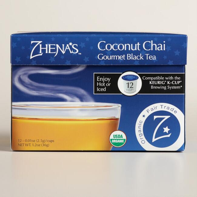 Zhena's Gypsy Tea Coconut Chai Tea Single Serve Cups