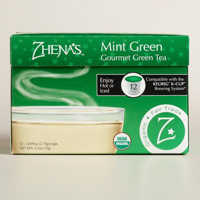 Zhena's Gypsy Tea Egyptian Mint Green Tea Single Serve Cups