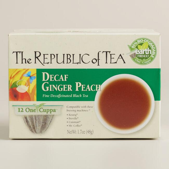 The Republic of Tea Decaf Ginger Peach One Cuppa Tea
