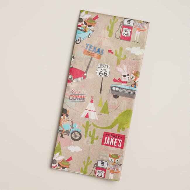 Fox & Hare Giftwrap Tissue Paper