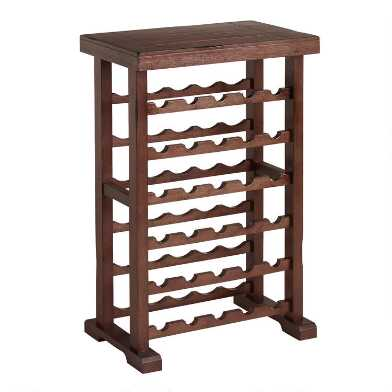Mahogany 30 Bottle Verona Wine Rack