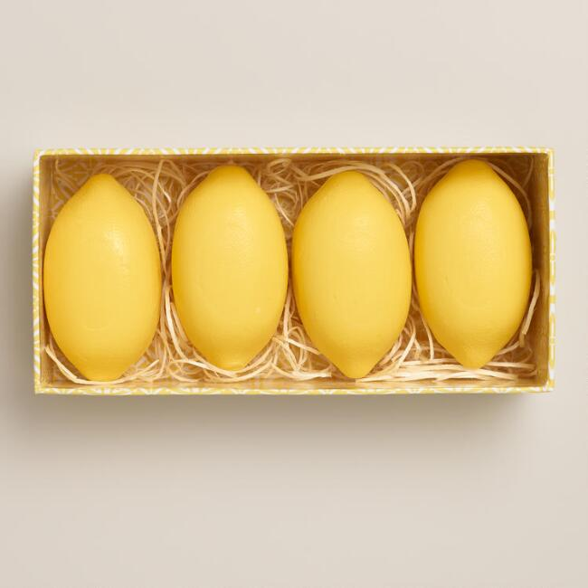 Sweet Lemon Box of Soaps, 4-Piece