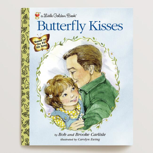Butterfly Kisses, a Little Golden Book