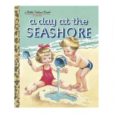 A Day At The Seashore Little Golden Book