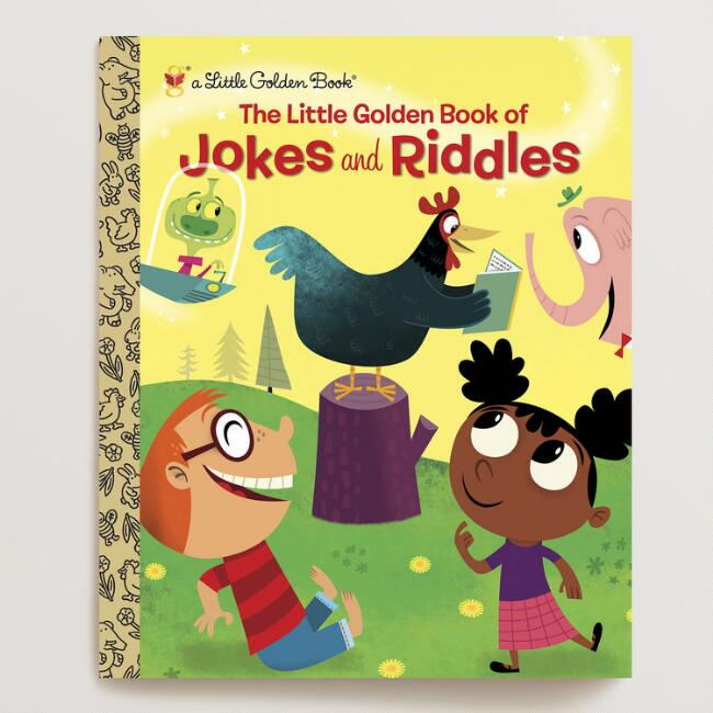 Little Golden Book of Jokes & Riddles, a Little Golden Book