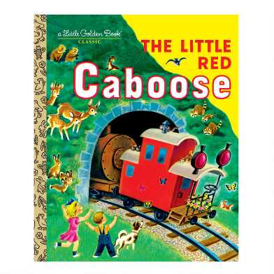 The Little Red Caboose Little Golden Book