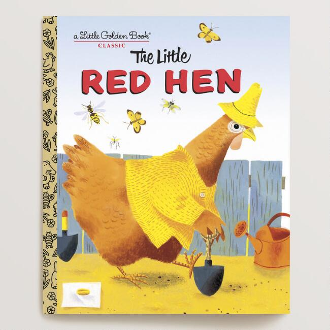 The Little Red Hen, a Little Golden Book
