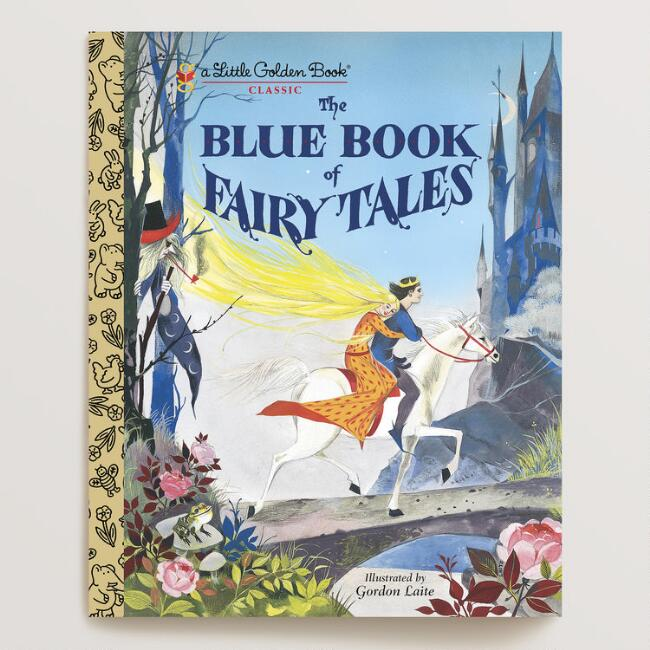 The Blue Book of Fairy Tales, a Little Golden Book