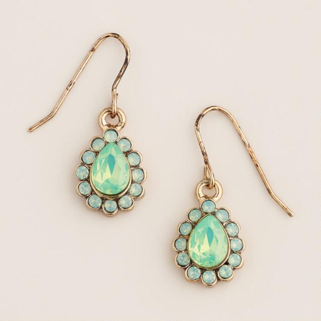 Pacific Opal Teardrop Earrings