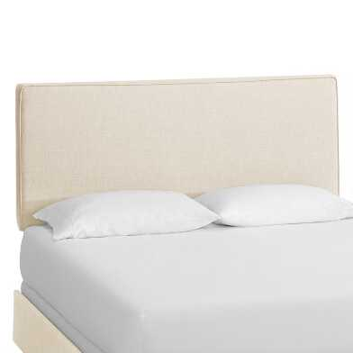 Talc Linen Loran Upholstered Bed