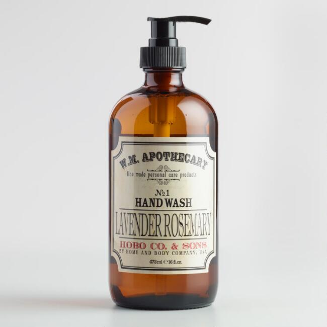World Market® Apothecary Lavender Rosemary Hand Soap