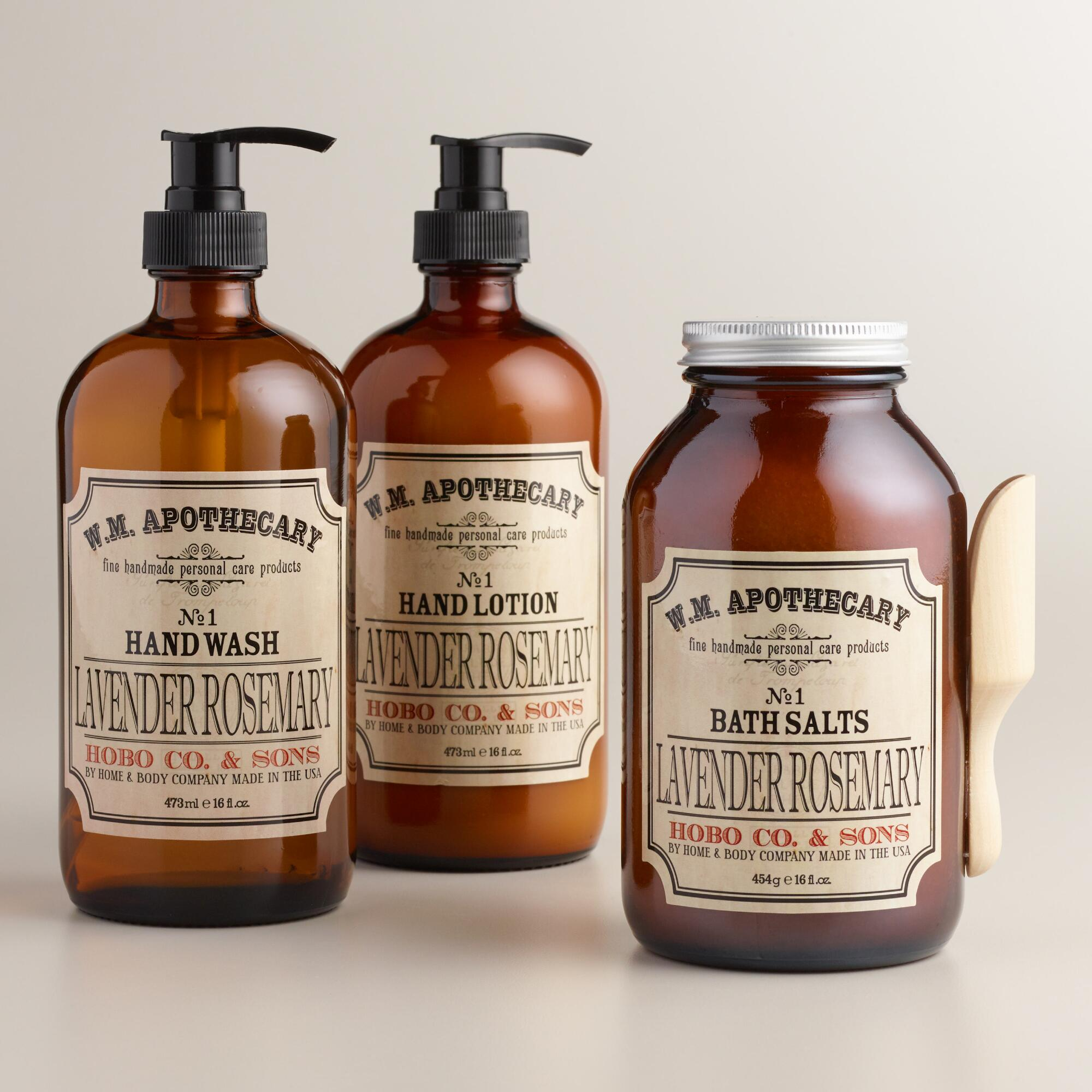 World Market® Lavender and Rosemary Bath and Body Collection by World Market