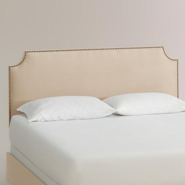 Micro Suede Caiden Upholstered Bed