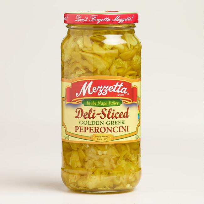 Mezzetta Deli Sliced Golden Greek Pepperoncini