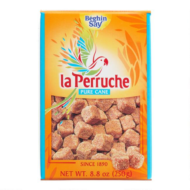 La Perruche Pure Cane Brown Sugar Cubes