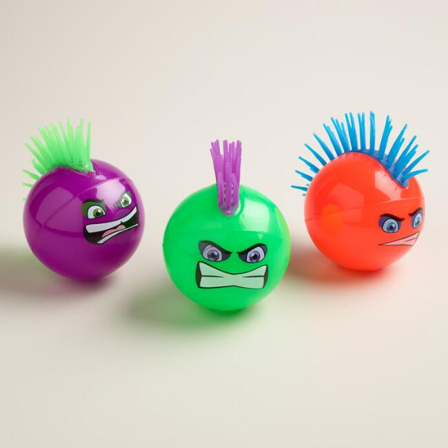 Punk Bouncy Balls, Set of 3