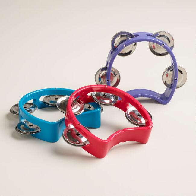 Mini Tambourines, Set of 3