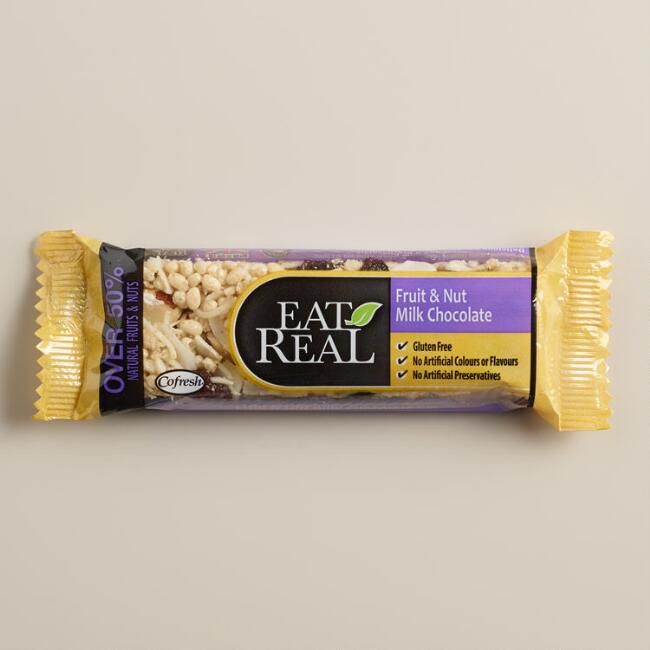 Eat Real Milk Chocolate, Fruit & Nut Bar