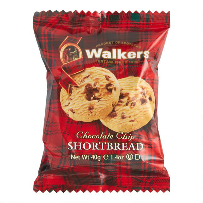 Walkers Chocolate Chip Shortbread Snack Size