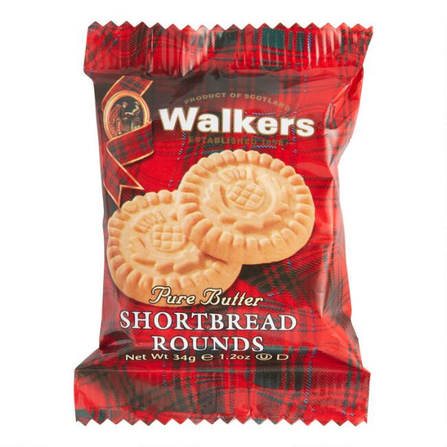 Walkers Shortbread Rounds Snack Size