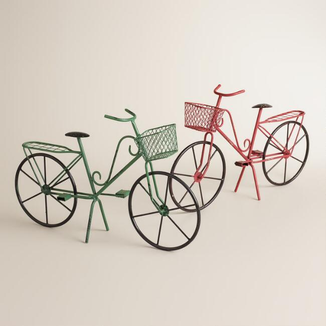 Mini Metal Bicycles, Set of 2