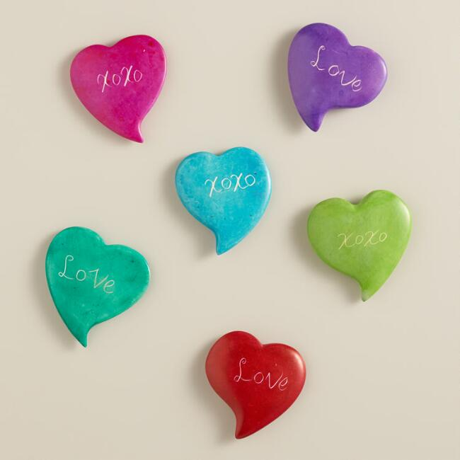 Kisii Hearts Set of 6