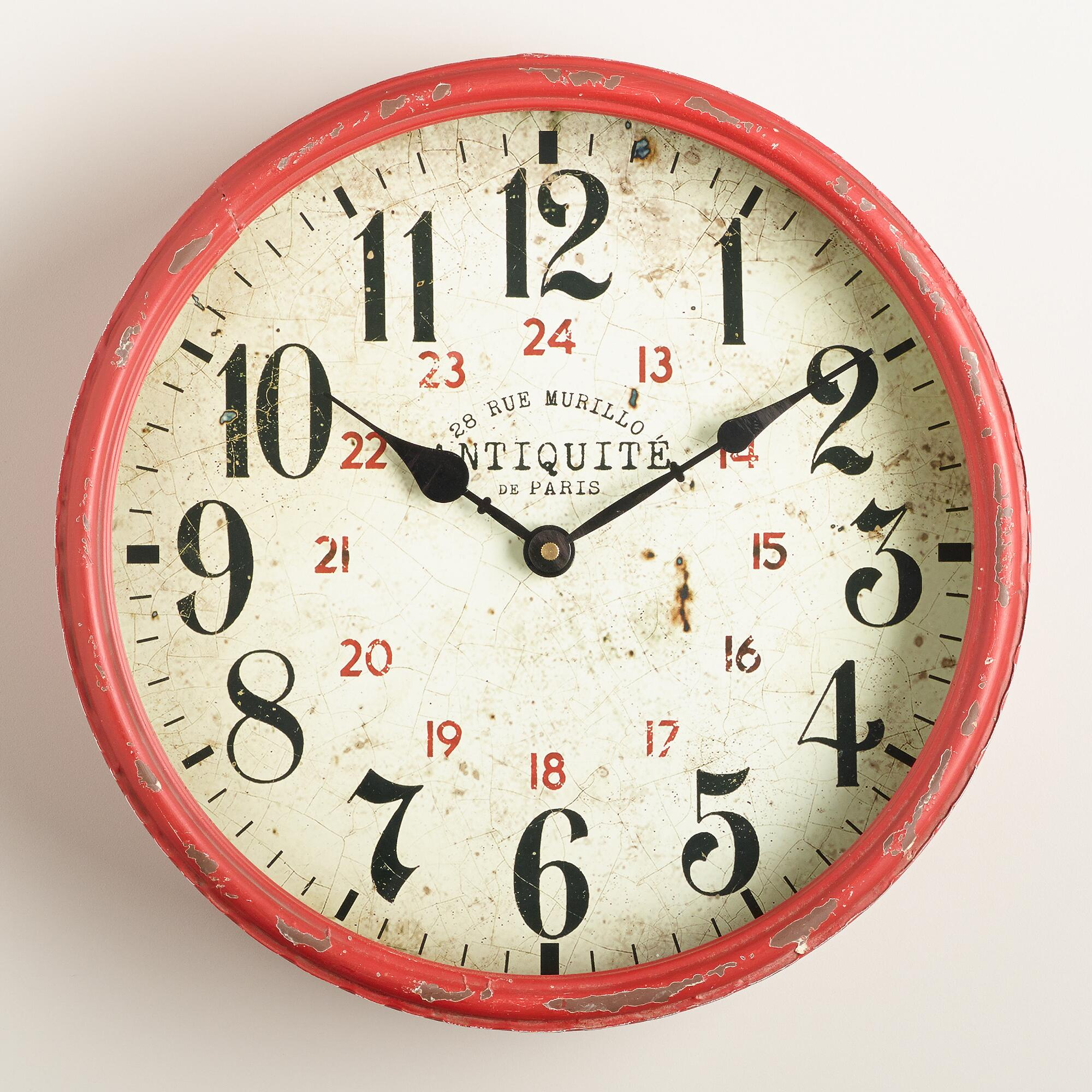 Wall clock housepouch 3999 amipublicfo Choice Image