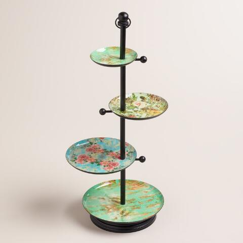Victorian 4-Tiered Jewelry Stand
