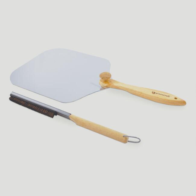 Pizzeria Pronto® Peel and Brush Set