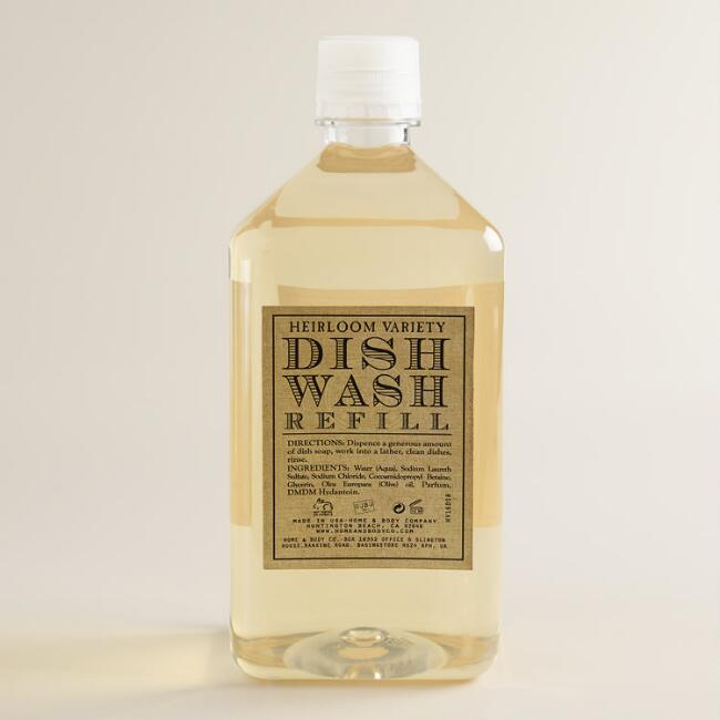 Heirloom Variety Orange Ginger Dish Soap Refill