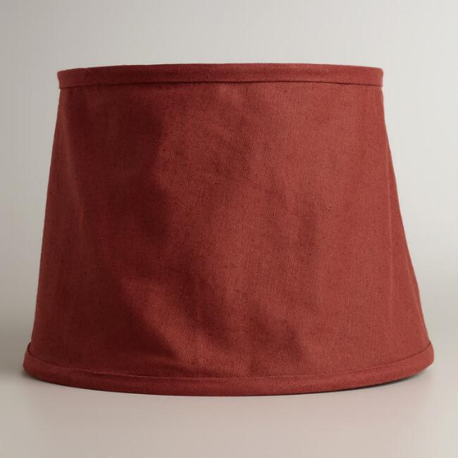 Rooibos Collapsible Canvas Table Lamp Shade