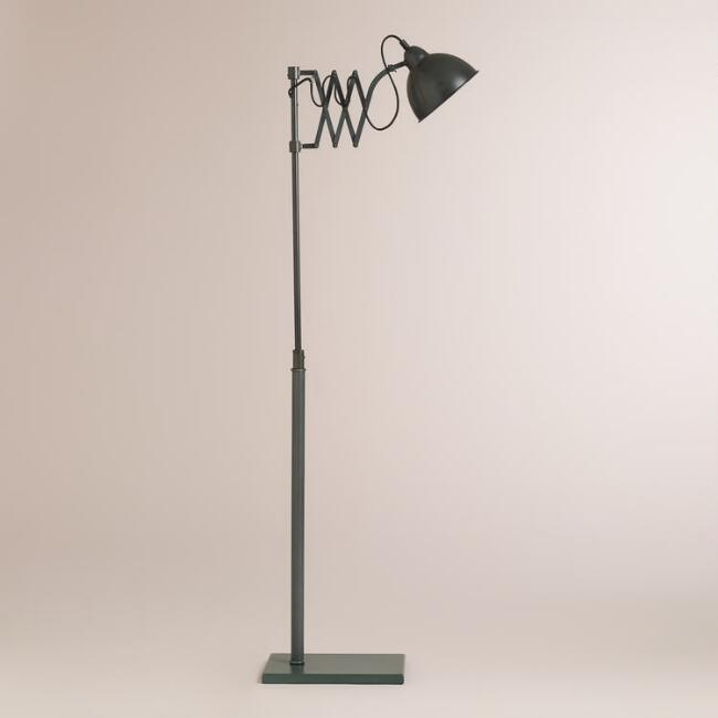 Accordian Task Floor Lamp