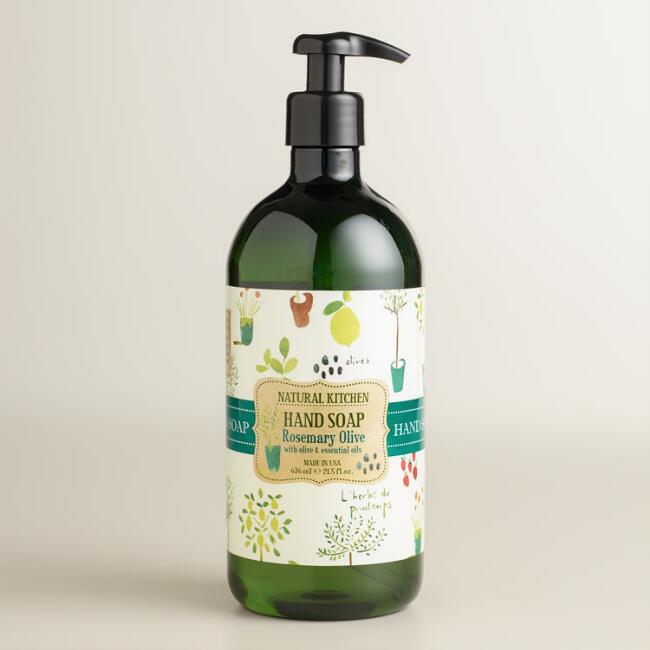 Rosemary Mint Natural Kitchen Hand Soap